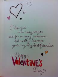 What To Say At What To Say On Valentines Day Card S Day Pictures