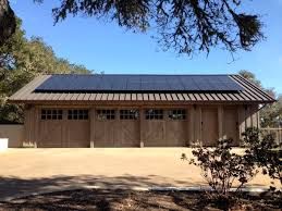 net zero energy 1000 square foot barn style garage with pv solar