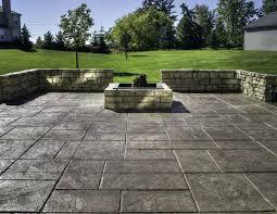 Backyard Cement Ideas Backyard Cement Patio Ideas Concrete Pictures Design Winsome White
