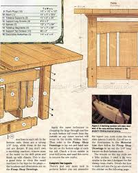 Arts And Crafts Dining Room Set by Arts And Crafts Dining Table Plans U2022 Woodarchivist
