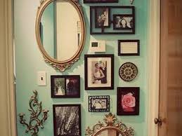 decor 6 frame mirror for hallway decorating ideas with