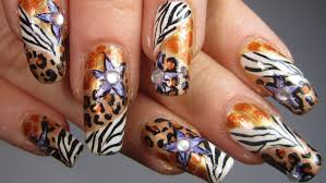 impression nail art and more a nails wild flower nail art best