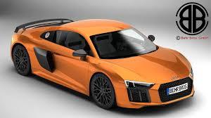 Audi R8 V10 - 3d audi r8 v10 plus 2016 cgtrader