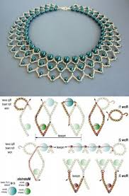 beading pattern necklace images Best seed bead jewelry free beading pattern for pearl petals jpg