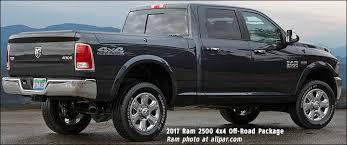 dodge truck package 2017 ram 2500 4x4 road package
