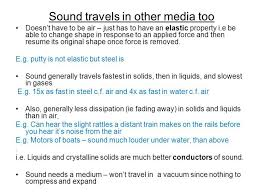 How Fast Does Sound Travel images Does sound travel best in solid liquid or gas jpg