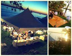 backyard wedding on the long island sound event kings