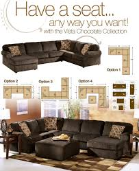 small brown sectional sofa dark brown sectionals sectional couches for small spaces modern