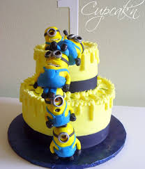 Minion Cake Decorations Top Minion Cakes Cakecentral Com