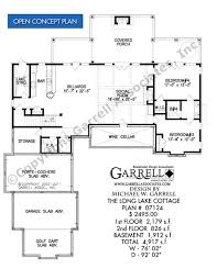 long lake cottage house plan 4917 house plans by garrell