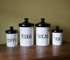 exceptional image black also kitchen canisters kitchen canisters