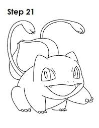 draw bulbasaur pokemon