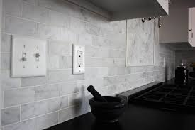 Bianco Carrara Marble Backsplash This Bianco Carrara  X  Flickr - Carrara backsplash