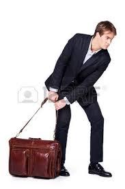 serviette de bureau pour homme homme d affaires fatigué d essayer de glisser grande serviette
