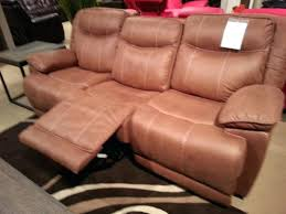 Flexsteel Leather Sofa Dual Reclining Sofa With Cup Holders Flexsteel Leather Reviews