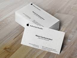 apple business card business cards meera