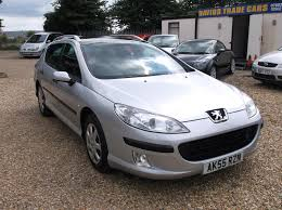 used peugeot estate cars used peugeot 407 estate for sale motors co uk