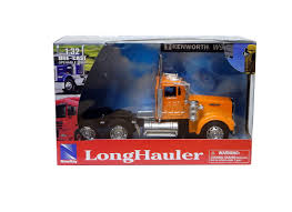 new ray toys 1 32 kenworth w900 plastic model lorry 10843c