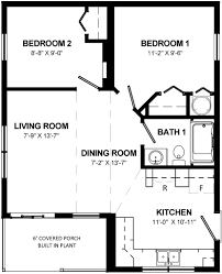 rowan cottage floor plan cottages home designs