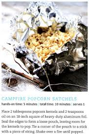 Camping In Backyard Ideas Best 25 Campfire Popcorn Ideas On Pinterest Camping 101