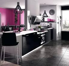 deco cuisine violet deco cuisine noir decoration cuisine mu00e9langez le noir le blanc