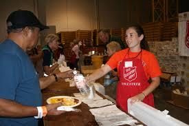 Salvation Army Volunteer Thanksgiving Oklahoma City Salvation Army Central Oklahoma