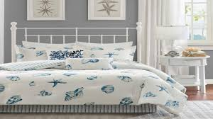 Beach House Master Bedroom Ideas Bed Beach Themed Comforter Sets Full Coastal Blue Bedding Beach