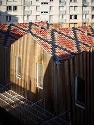 bureau de change chalon sur saone firm odile guzy architectes has completed a social housing