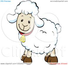 sheep clipart happy sheep pencil and in color sheep clipart