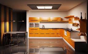 modern orange kitchen design ideas 2016