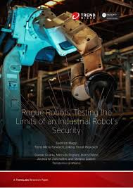 industrial robot security
