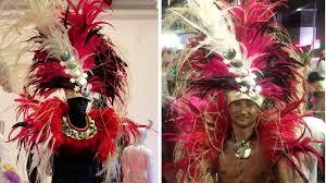 mardi gras parade costumes pacific costume part of 40th mardi gras celebrations loop tonga