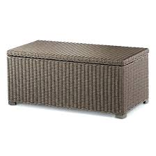 Wicker Storage Ottoman Coffee Table Wicker Coffee Table With Storage Wicker Storage Ottoman Coffee
