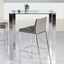 glass pub table and chairs eurostyle beth glass bar table in clear 38704a 38704g kit