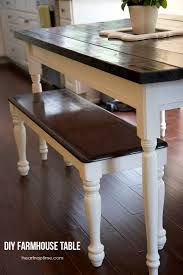 Dining Room Bench Plans by Diy Farmhouse Kitchen Table I Heart Nap Time