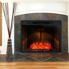 Fireplace Electric Insert Electric Fireplace Inserts For Existing Fireplaces Size Of