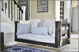 Patio Swing Folds Into Bed 23 Free Diy Porch Swing Plans U0026 Ideas To Chill In Your Front Porch