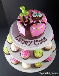 owl birthday cakes behance