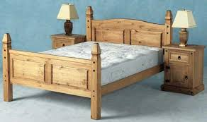 Mexican Pine Bookcase Corona Mexican Pine 4 6 Double Bed