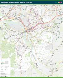 Essen Germany Map by Stadtbahn Mulheim Metro Map Germany