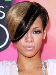 stylish brown celebrity super short haircuts with short bang