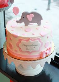 baby shower cake dotty elephant baby shower cake bakeshop