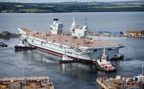 hms queen elizabeth on board the royal navy u0027s new warship in
