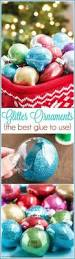 Glitter Christmas Ornaments Floor Wax by Diy Glitter Ornaments U2013 What Should You Use To Make Them