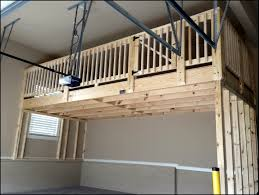 garage mezzanine plans garage storage loft garage storage