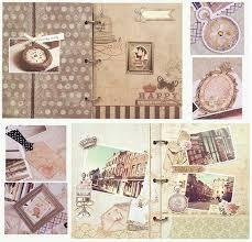 3 Ring Photo Album Creative 3 Ring Binder Vintage Scrapbooking Album Complete