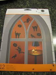 window clings halloween sustainably chic designs spookathon dollar tree halloween plates