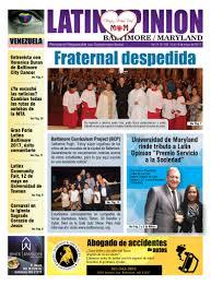 Radio Catolica De Jesus Y Maria Latin Opinion Baltimote Newspaper
