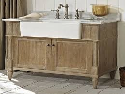 farmhouse bathroom sink vanity