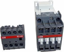 le 24v abb contactor relay 1sbh143001r8144 nl44e 81 24v dc ac 15 le 3a